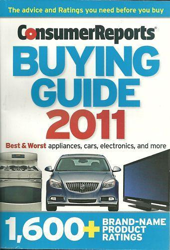 Consumer Reports Buying Guide 2011 Best Amp Worst