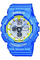 Casio BA-120-2BER - Women's Watch, Resin, Blue Tone