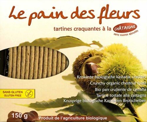 Le Pain des Fleurs Org Chestnut Crispbread 150g