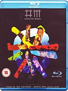 Depeche Mode - Tour of the Universe : Barcelona 20/21.11.09 [Blu-ray]