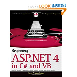 Beginning ASP.NET 4: in C# and VB (Imar Spaanjar)