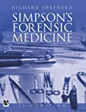 Simpsons Forensic Medicine, 12Ed