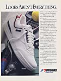 1986 Brooks Nouveau Tennis Shoes Looks Aren't Everything Print Ad (Memorabilia) (54950)