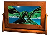 Exotic Sands Fast Shipping Large Alder Frame (Summer Turquoise) Usa Best Quality! Variety Of Colored Sands.
