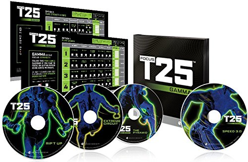 Shaun T' insanity T25 GAMMA DVD Workout (T25 Alpha Cycle compare prices)