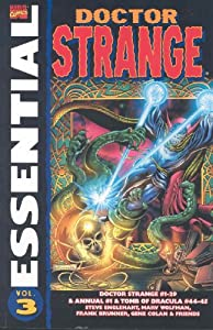 Essential Doctor Strange, Vol. 3 (Marvel Essentials) (v. 3) by Steve Englehart, Marv Wolfman, Roy Thomas and Jim Starlin