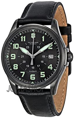 Victorinox Swiss Army Men's 241518 Infantry Vintage Black Dial Watch from VICTORIA