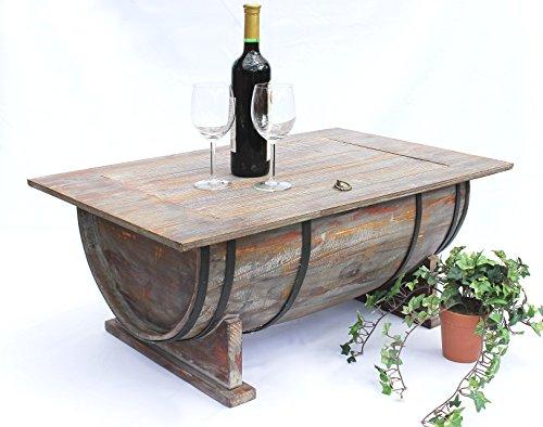 Couchtisch-Weinfass-5084-Tisch-aus-Holz-Weinregal-80cm-Beistelltisch-Weinbar-Bar