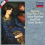 Brahms : Trios pour piano, violon et violoncelle n° 1 & n° 2
