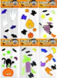 Halloween Window Gel Art - 6 Sets