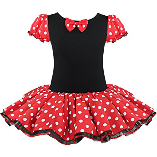 [iEFiEL Baby Girls Dressing up Miss Mouse Tutu Dress with Ear Headress] (Holiday Recital Costumes)