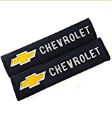 D&R® Set of 2 Seat Belt Covers Shoulder Pads For Chevrolet Chevy