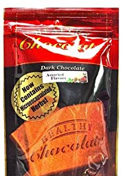 Xylitol Sweetened ASSORTED Flavored Dark Chocolates, 15 pcs, 4.23 oz By Healthy Chocolate Company