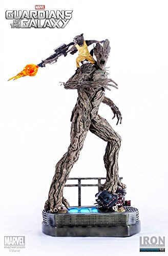 Guardians of the Galaxy Statua Statue 1/6 Rocket e Groot Prison Ver. 59 cm Iron Studios