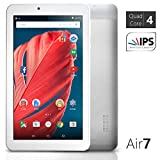 NeuTab® 7 inch Quad Core Google Android 5.0 Lollipop Tablet PC 1GB RAM 8GB Nand Flash wide View IPS 1024x600 HD Display Bluetooth 4.0, Slim Metal Design, 1 Year US Warranty FCC Certified