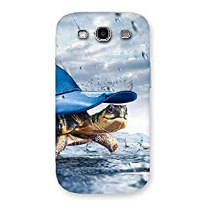 Stylish Wow Turtle Multicolor Back Case Cover for Galaxy S3