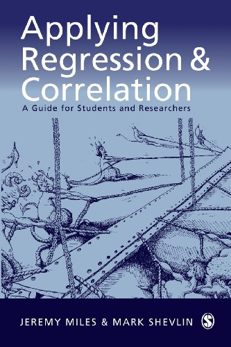 Applying Regression and Correlation: A Guide for Students...