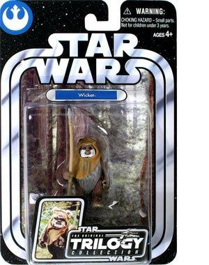 Buy Low Price Hasbro Star Wars Original Trilogy Collection Ewok Wicket Figure (B0006PU702)