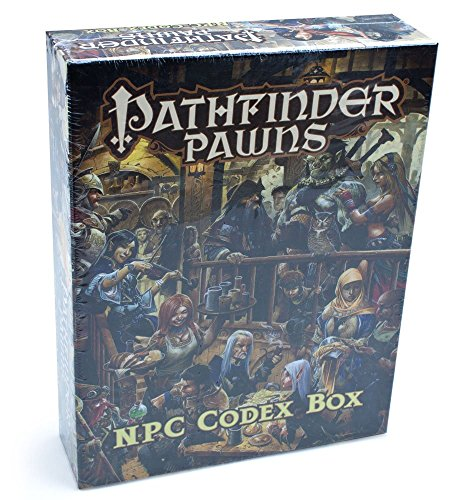 Pathfinder Pawns Roleplaying NPC Codex Box - Use with Pathfinder Role Playing Games! (Npc Codex Box compare prices)