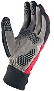 SealSkinz Men's All Weather Cycle Gloves - Red, Small