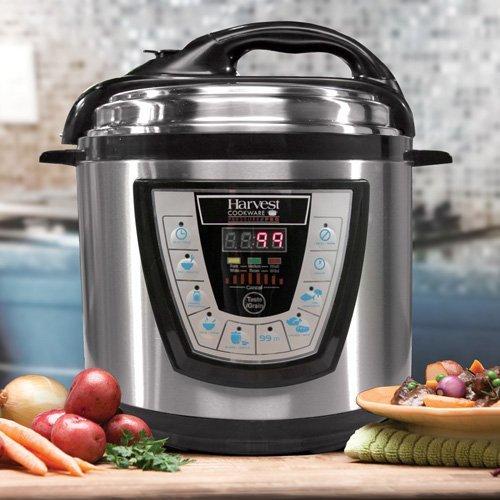 Pressure Pro Pressure Cooker- 6qt (Harvest Electric Pressure Cooker compare prices)
