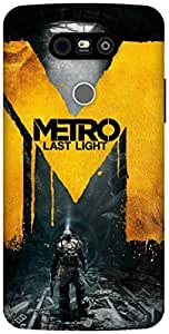 The Racoon Lean metro last night hard plastic printed back case / cover for LG G5