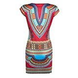 Tonsee-Women-Casual-Sleeveless-Traditional-African-Printed-Dress