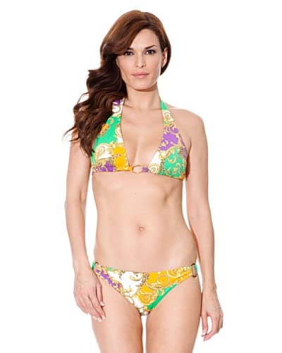 Cortefiel Bikini Triangolo [Verde]