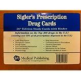 Sigler's Prescription Drug Cards: Study Cards with Binder