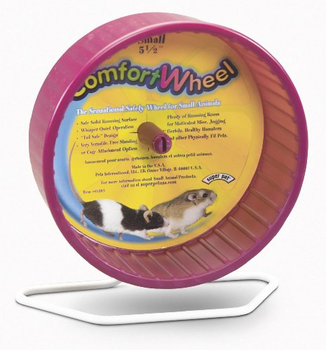 Super Pet Mouse Comfort Exercise Wheel, Small, Colors Vary