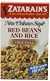 Zatarain's New Orleans Style Red Beans & Rice, 8-Ounce Boxes (Pack of 12)
