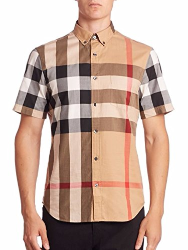 Camel Burberry Check Shirt