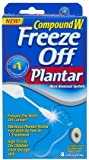 512MJa1FoSL. SL160  Compound W Freeze Off Wart Remover for Plantar Warts 8 Applications in Each Pack (2 Pack)