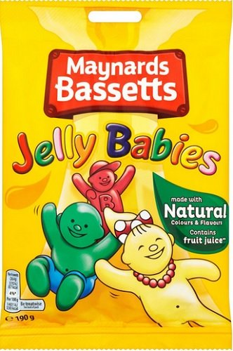 Jelly Babies von Maynards Bassetts 165g