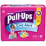 Huggies Pull-Ups Training Pants with Cool Alert, Girls, 4T-5T, 44 Count