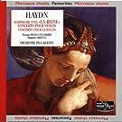 Haydn : Symphonie num�ro 85, concerto pour violon (ut majeur), Concerto pour clavecin (sol majeur) : La Reine