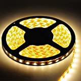 Triangle Bulbs® Warm White Flexible Ribbon High Quality LED Strip Light, 300 LEDs, 16.4 Ft/5 Meters,