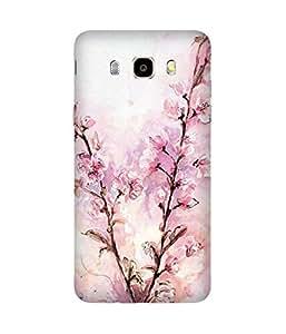 Arty Flowers Samsung Galaxy J5 Case