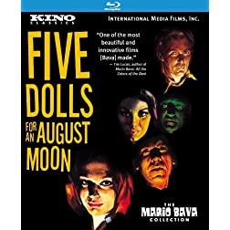 Five Dolls for an August Moon: Kino Classics Remastered Edition [Blu-ray]