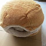 Modovo Hamburger Design Washable Pet House Dog House Cat House (15.74 X 14.56 X 11.81 inches)