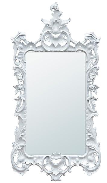 White Bevelled Mirror