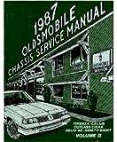 1987 OLDSMOBILE CALAIS, CUTLASS CIERA, DELTA 88, FIRENZA, 98 Shop Service Manual