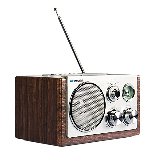 König HAV-TR710BE Retro-Design AM/FM-Radio