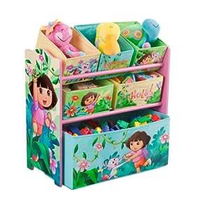 Nickelodeon Dora The Explorer Multi-Bin Toy Organizer