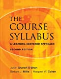img - for The Course Syllabus: A Learning-Centered Approach book / textbook / text book