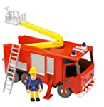 Fireman Sam - Friction Fire Engine wi...