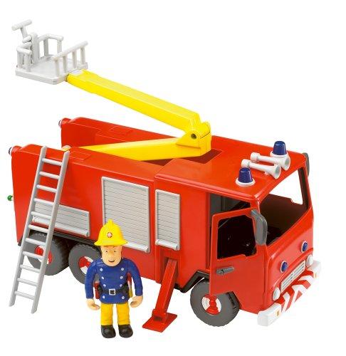 Yaffee FS028 - Sam il pompiere, Autopompa antincendio con pupazzetto Sam