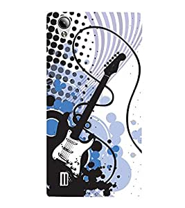 Electric Switch Guitar 3D Hard Polycarbonate Designer Back Case Cover for Vivo Y15S