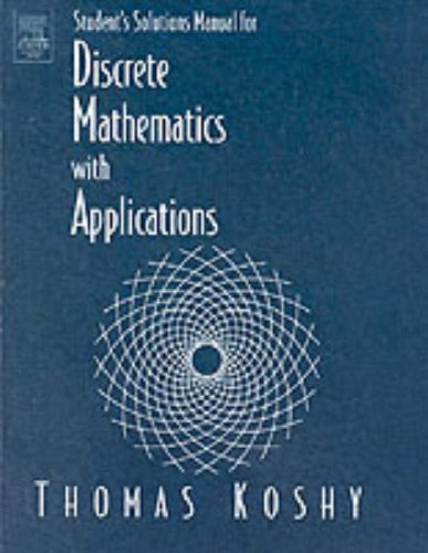 Instructor's Manual Discrete Mathematics