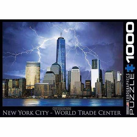 EuroGraphics New York World Trade Center 1000-Piece Puzzle WLM (Puzzle Center 1000 compare prices)